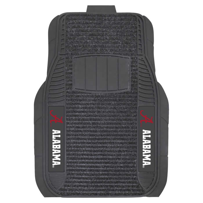 Fanmats College Logo Deluxe Car Mats College Logo Car