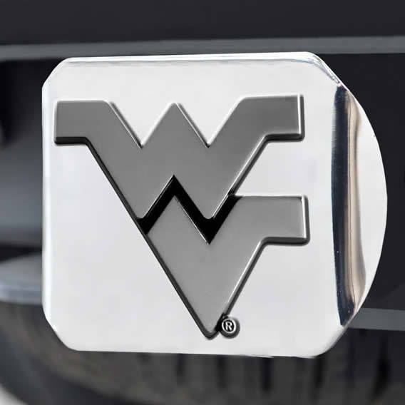 College Logo Chrome Hitch Covers by SLS