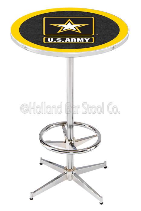 Holland Bar Stool Military Logo Bar Tables