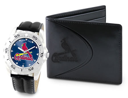Game Time MLB Watch Wallet Gift Sets