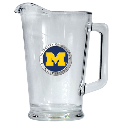College Logo Beer Pitchers